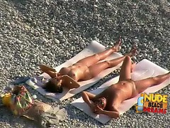 Hot lovers relaxing their private parts together
