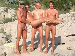 Real nudists from all over the world