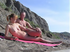 Real amateur nudists in groups
