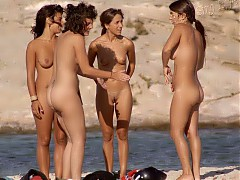 Nudist girls shows their beautiful bodies