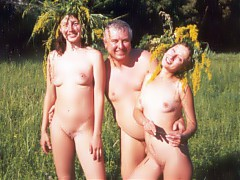Real amateur nudists from all over the world
