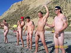 Some amazing pictures from Nudist Male beach